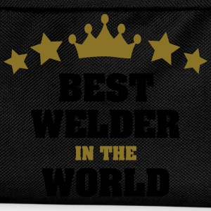best welder in the world stars crown - Kids' Backpack