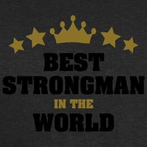 best strongman in the world stars crown - Men's Sweatshirt by Stanley & Stella