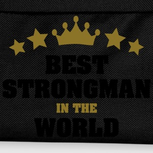 best strongman in the world stars crown - Kids' Backpack