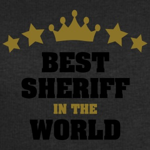 best sheriff in the world stars crown - Men's Sweatshirt by Stanley & Stella