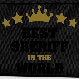 best sheriff in the world stars crown - Kids' Backpack