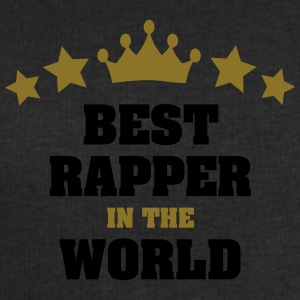best rapper in the world stars crown - Men's Sweatshirt by Stanley & Stella