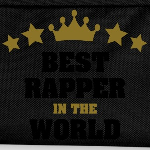 best rapper in the world stars crown - Kids' Backpack