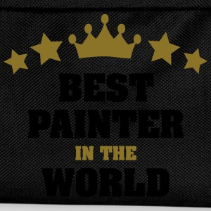 best painter in the world stars crown - Kids' Backpack