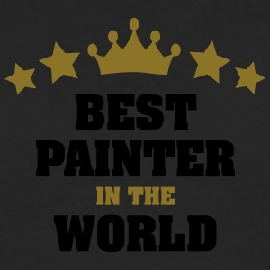 best painter in the world stars crown - Men's Premium Longsleeve Shirt