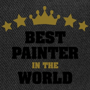 best painter in the world stars crown - Snapback Cap