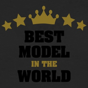 best model in the world stars crown - Men's Premium Longsleeve Shirt