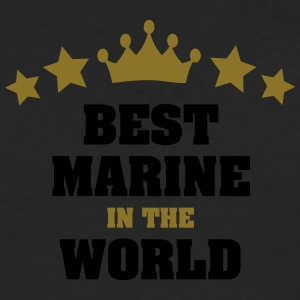best marine in the world stars crown - Men's Premium Longsleeve Shirt