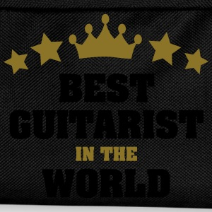 best guitarist in the world stars crown - Kids' Backpack