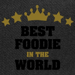 best foodie in the world stars crown - Snapback Cap