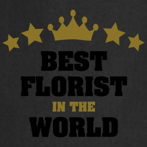 best florist in the world stars crown - Cooking Apron