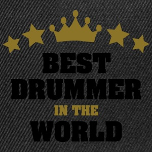 best drummer in the world stars crown - Snapback Cap