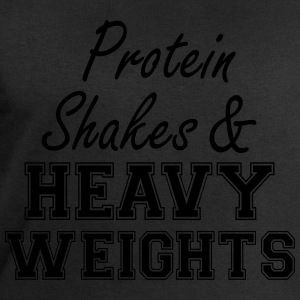 Protein Shakes And Heavy  T-Shirts - Men's Sweatshirt by Stanley & Stella