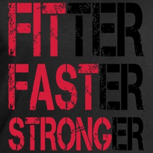 Fitter Faster Stronger - Fitness, Bodybuilding Tee shirts - Sweat-shirt Homme Stanley & Stella