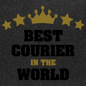 best courier in the world stars crown - Snapback Cap