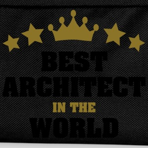 best architect in the world stars crown - Kids' Backpack