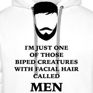 MEN BEARD 2 T-shirts - Premiumluvtröja herr
