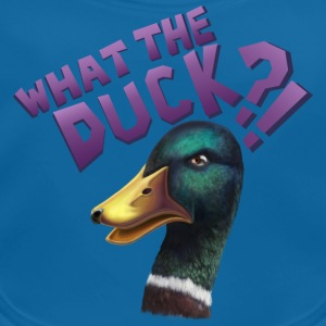 What The Duck?! T-Shirts - Baby Bio-Lätzchen