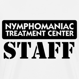 Nymphomaniacs hospital: personale Toppe - Herre premium T-shirt