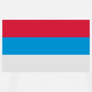National Flag of Serbia Hoodies & Sweatshirts - Men's Premium T-Shirt