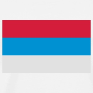 National Flag of Serbia Sports wear - Men's Premium T-Shirt