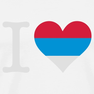 I love Serbia Tops - Men's Premium T-Shirt