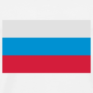 National Flag of Russia Bamser - Premium T-skjorte for menn