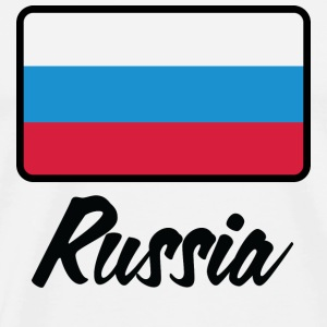 National Flag of Russia Mugs & Drinkware - Men's Premium T-Shirt