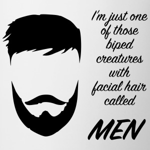 men beard T-shirts - Mugg