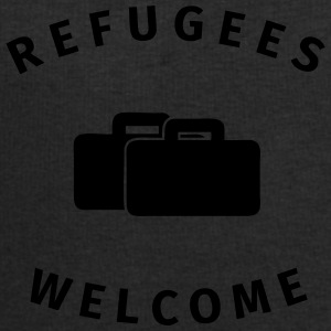 refugees welcome Bouteilles et Tasses - Sweat-shirt Homme Stanley & Stella