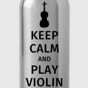 keep calm and play violin Tee shirts - Gourde