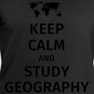 keep calm and study geography T-Shirts - Männer Sweatshirt von Stanley & Stella