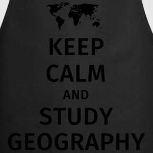 keep calm and study geography T-Shirts - Cooking Apron