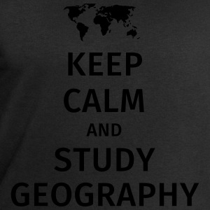 keep calm and study geography T-shirts - Herresweatshirt fra Stanley og Stella
