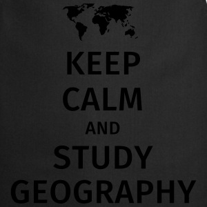 keep calm and study geography Tee shirts - Tablier de cuisine