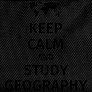 keep calm and study geography T-shirts - Rygsæk til børn