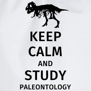 Keep calm and study paleontology Magliette - Sacca sportiva