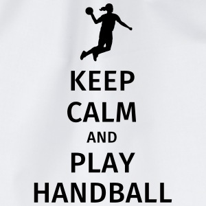 keep calm and play handball T-shirts - Gymnastikpåse