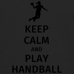 keep calm and play handball Tazze & Accessori - Maglietta Premium a manica lunga da uomo