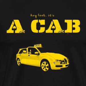Hey Look It's A CAB Langarmshirts - Männer Premium T-Shirt
