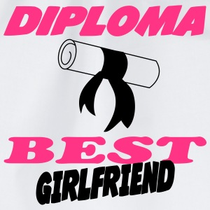 Diploma best girlfriend 333 Topper - Gymbag