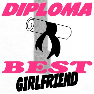 Diploma best girlfriend 333 Kopper & tilbehør - Premium hettegenser for menn