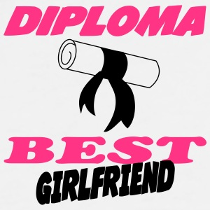 Diploma best girlfriend 333 Kopper & tilbehør - Premium T-skjorte for menn
