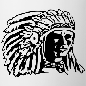 Indian Chief Shirt Design Sportsbeklædning - Kop/krus