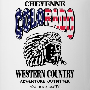 Colorado Indian Chief Shirt Design Sportsbeklædning - Kop/krus