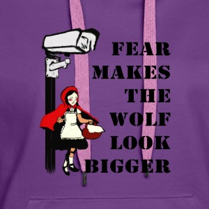 Monitoring stokes fear Tops - Women's Premium Hoodie