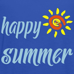 HAPPY SUMMER T-Shirts - Women's Tank Top by Bella