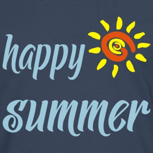HAPPY SUMMER T-Shirts - Men's Premium Longsleeve Shirt