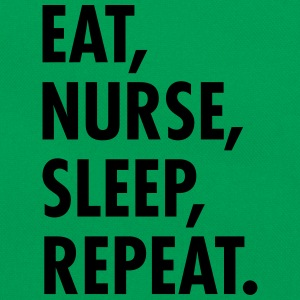 Eat, Nurse, Sleep, Repeat. T-Shirts - Retro Tasche