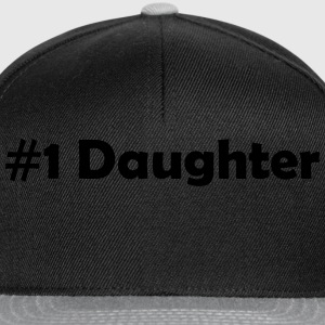 #1 Daughter - Snapback Cap